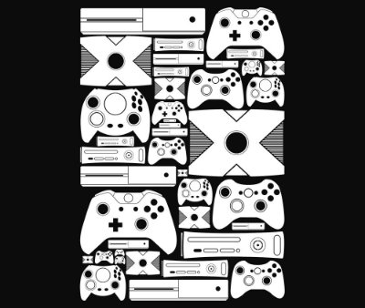 Enjoystick Xbox Royale White