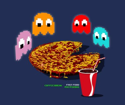 Enjoystick - Pac Man Ghosts Breakfast