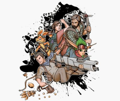 Enjoystick Naughty Dog Characters