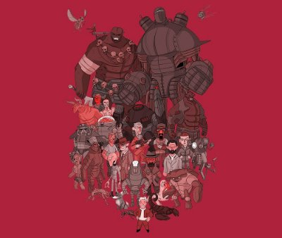 Enjoystick Fallout Characters Composition