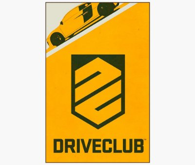 Enjoystick Drive Club Yellow Vertical Composition
