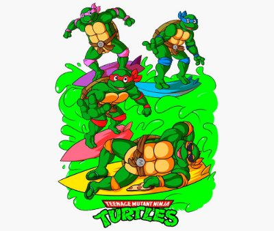 Enjoystick Ninja Turtles - Happy Moment