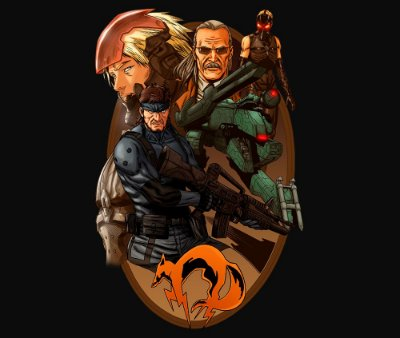 Enjoystick Metal Gear Characters Composition