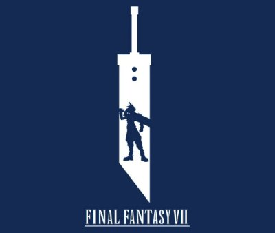 Enjoystick Final Fantasy VII - Cloud Sword Minimalist Compostion