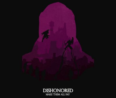 Enjoystick Dishonored Purple Composition