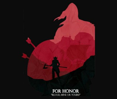Enjoystick For Honor Vikings Blood and Red