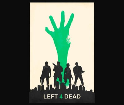 Enjoystick Left 4 Dead Green