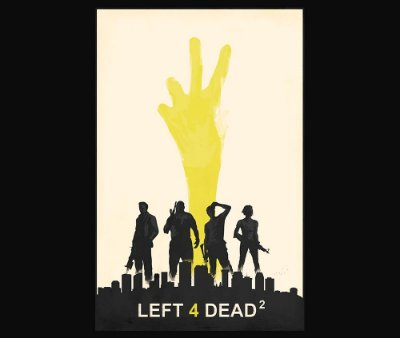 Enjoystick Left 4 Dead Yellow