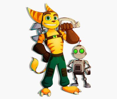 Enjoystick Ratched and Clank - Friendship