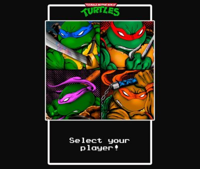 Enjoystick Ninja Turtles - Select your Player!