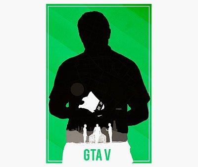 Enjoystick GTA V Minimalist Green Composition