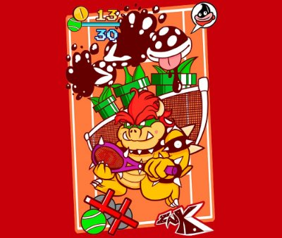 Enjoystick Mario Tennis - Bowser