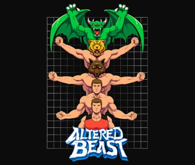 Enjoystick Altered Beast - Forms