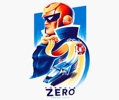 Enjoystick F-Zero - Falcon Profile