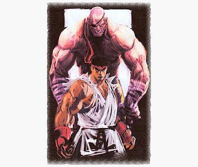 Enjoystick Street Fighter - Eternal Rivals