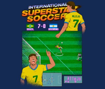 Enjoystick Allejo - International Superstar Soccer