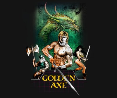 Enjoystick Golden Axe Epic - Cover Remake