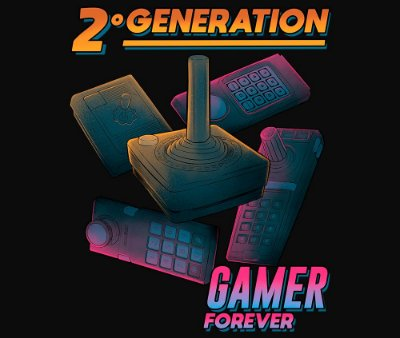 Enjoystick 2º Geração de Consoles