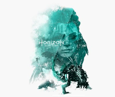 Enjoystick Horizon Zero Dawn - Aloy Green Composition