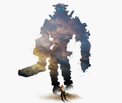 Enjoystick Shadow of Colossus - Sky Minimalist Composition