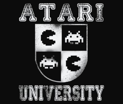 Enjoystick Atari University White