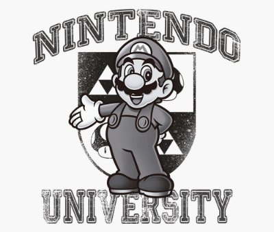 Enjoystick Nintendo University Feat Mario - Black