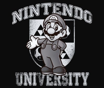 Enjoystick Nintendo University Feat Mario - White