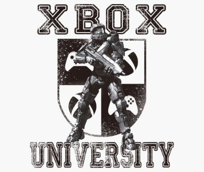 Enjoystick Xbox University Feat Master Chief - Black