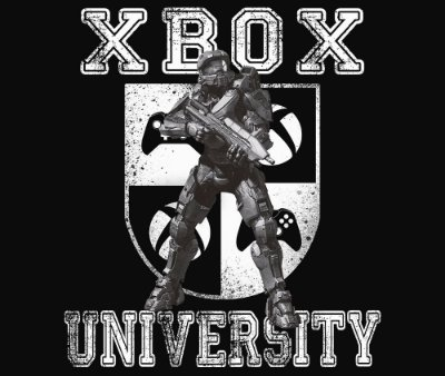 Enjoystick Xbox University Feat Master Chief - White