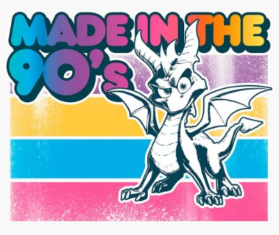 Enjoystick Made In 90's Spyro The Dragon