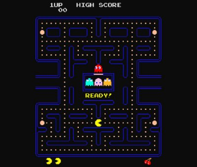 Enjoystick Pac Man Arcade Screen