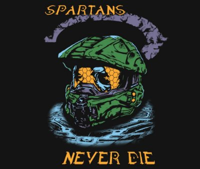 Enjoystick Halo - Master Chief Helmet - Spartans Never Die