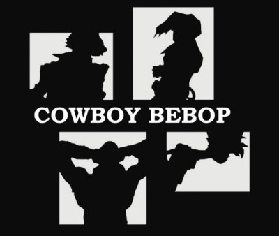 Enjoystick Cowboy Bebop - Black and White