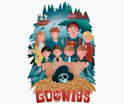 Enjoystick Goonies Cartoon