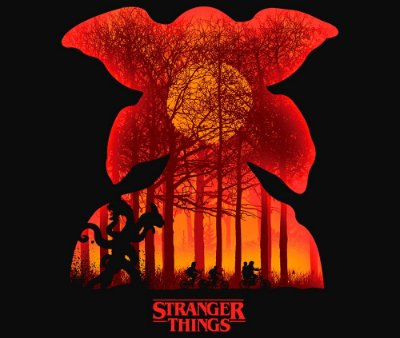 Enjoystick Stranger Things Orange Composition