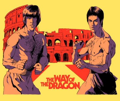 Enjoystick Chuck Norris VS Bruce Lee