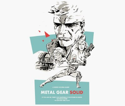 Enjoystick Metal Gear Solid