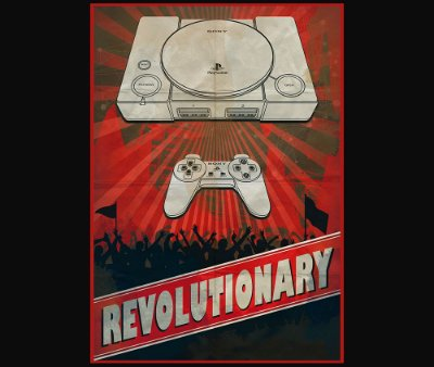 Enjoystick Playstation - Revolutionary