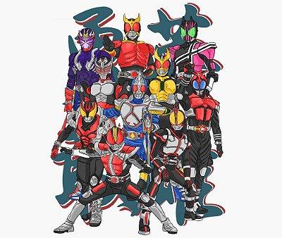 Enjoystick Kamen Rider - Era Heisei - Fase 1