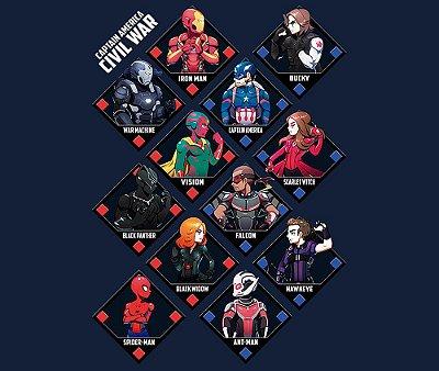 Enjoystick Cute Marvel Civil War