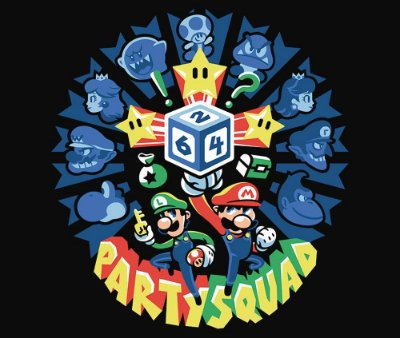 Enjoystick Mario Party - Squad