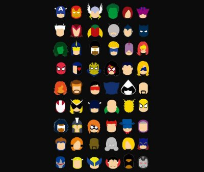 Enjoystick Marvel Icons