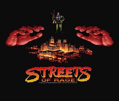 Enjoystick Streets of Rage - 8 Bit Menane