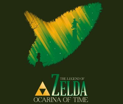 Enjoystick Zelda Ocarina of Time - Minimalist