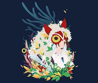 Enjoystick Studio Ghibli - Princesa Mononoke - minimalist