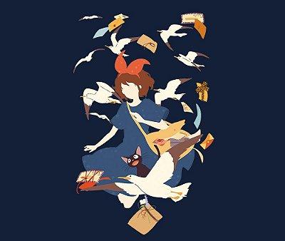 Enjoystick Studio Ghibli - Serviço de entrega da Kiki - Minimalist