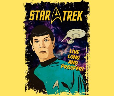 Enjoystick Star Trek - Spoock Composition