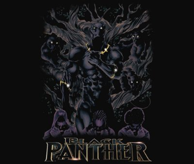 Enjoystick Black Panther - Poster Style