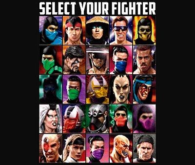Enjoystick Mortal Kombat - Select your Fighter