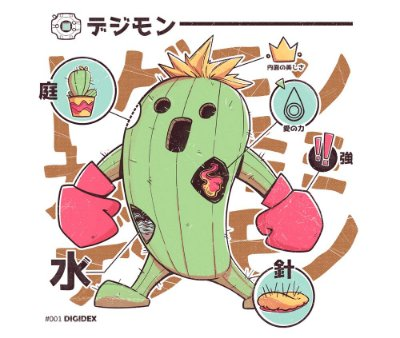 Enjoystick Digimon - Togemon